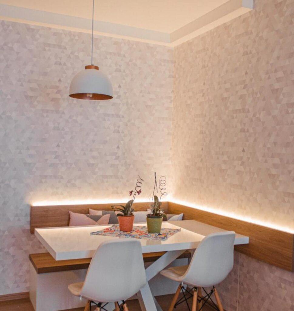 papel de parede para sala de jantar, adesivo, Defacile, cozinha, copa, abstrato