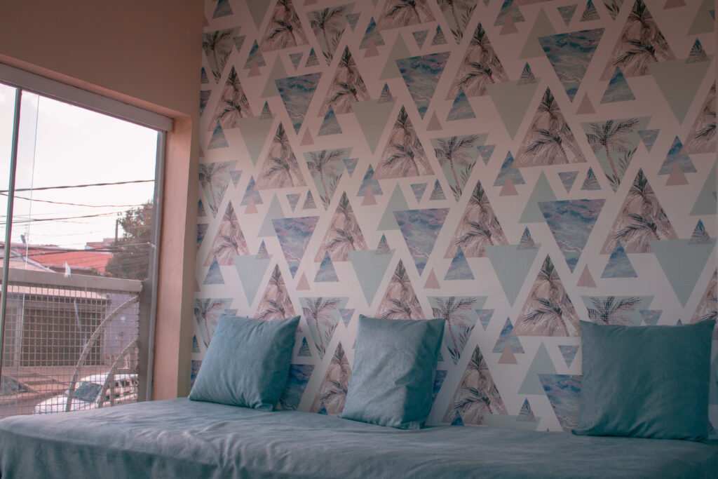 Papel de parede Defacile, Papel adesivo, vibe, casa, quarto, sala, trip