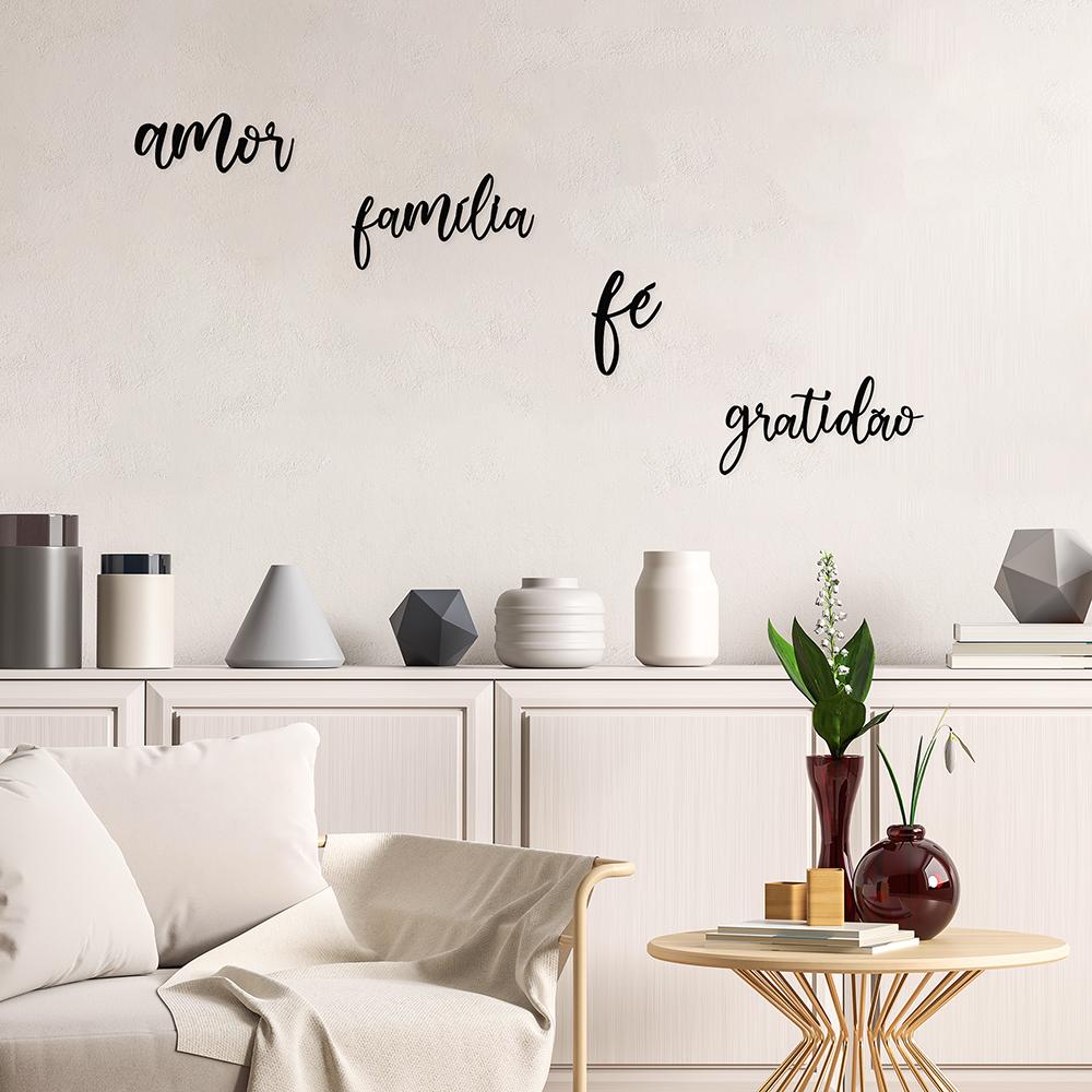 Kit Decorativo de Parede Agradecer
